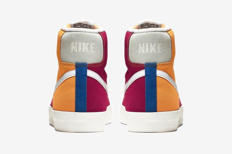 Nike Blazer Mid Vintage 全新復古拼接配色登場