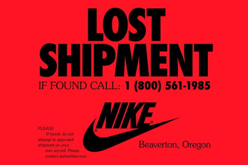 Nike 釋出全新廣告呼籲致電熱線尋回 1985 年失物