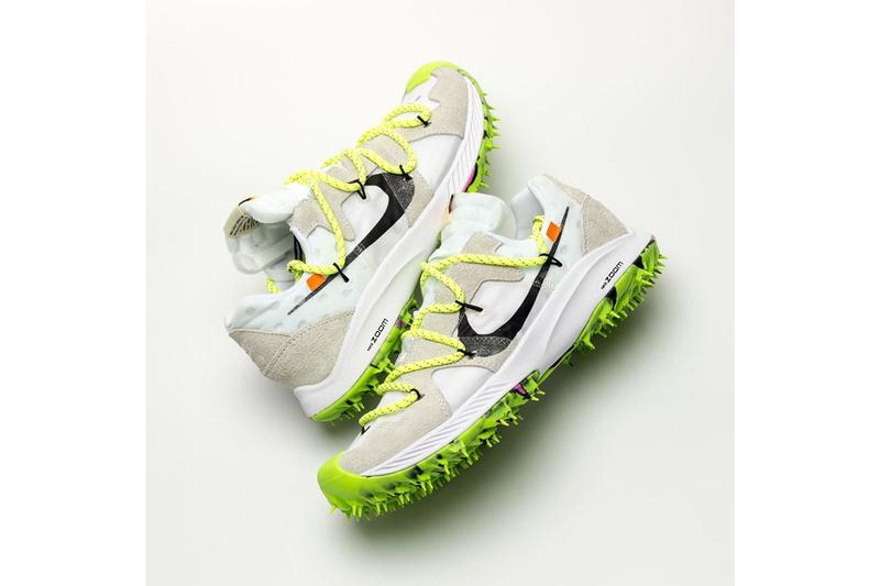 搶先預覽 Off-White™ x Nike Zoom Terra Kiger 5 聯乘鞋款