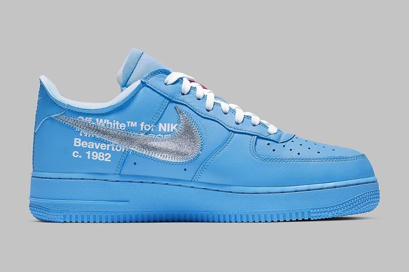 Off-White™ x Nike Air Force 1「MCA」配色官方圖片登場