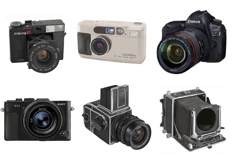囊括 Nick Knight 助手、BALENCIAGA 攝影師在內的 6 位從業者,都在用什麽相機?
