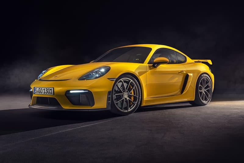 Porsche 推出全新 718 Cayman GT4 和 718 Spyder 車型