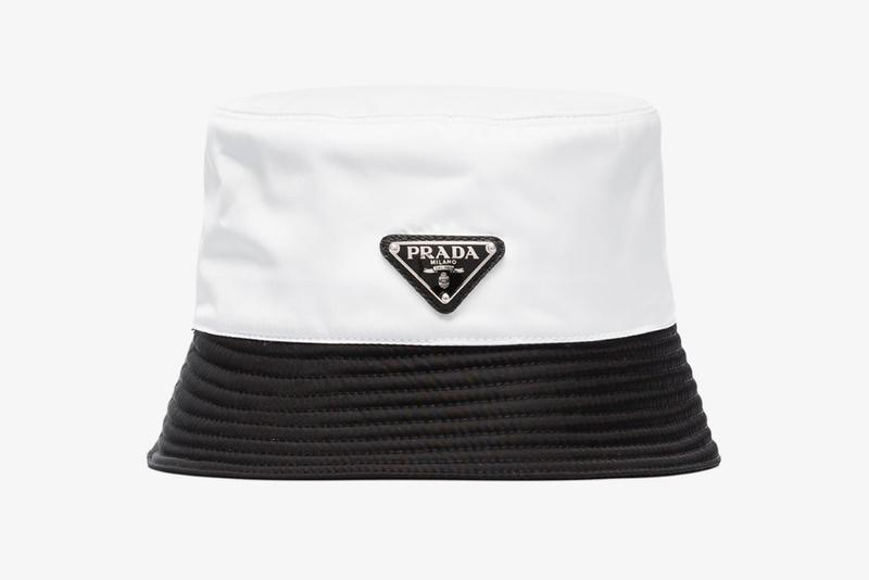 Prada 全新黑白雙色漁夫帽上架