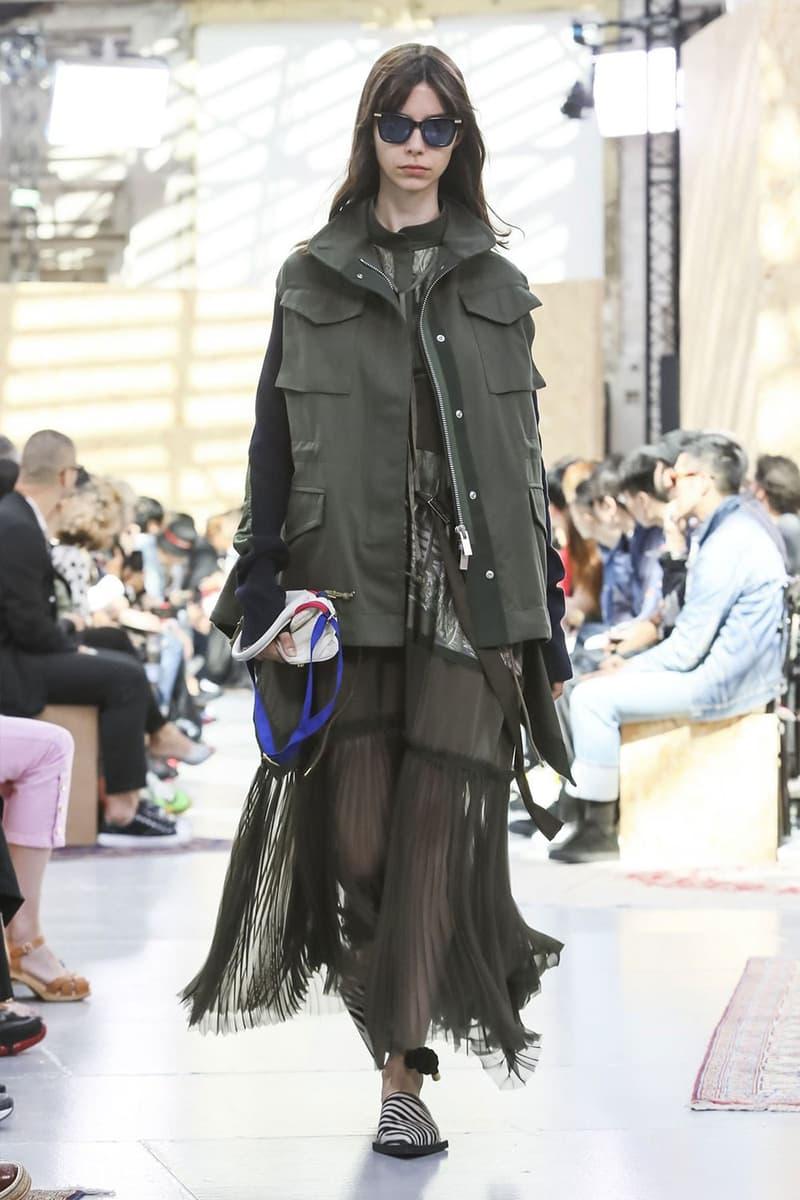 巴黎時裝周 − 近賞 sacai 2020 春夏男裝系列和後台直擊