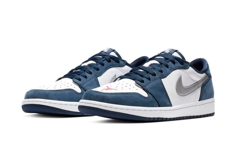 Nike SB x Air Jordan 1 Low 全新聯乘鞋款發售詳情揭曉