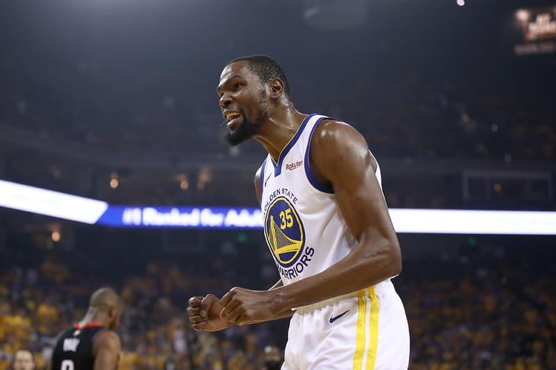 NBA 季後賽 2019 - Steve Kerr 總教練宣佈 Kevin Durant 確定缺席總冠軍賽第四戰