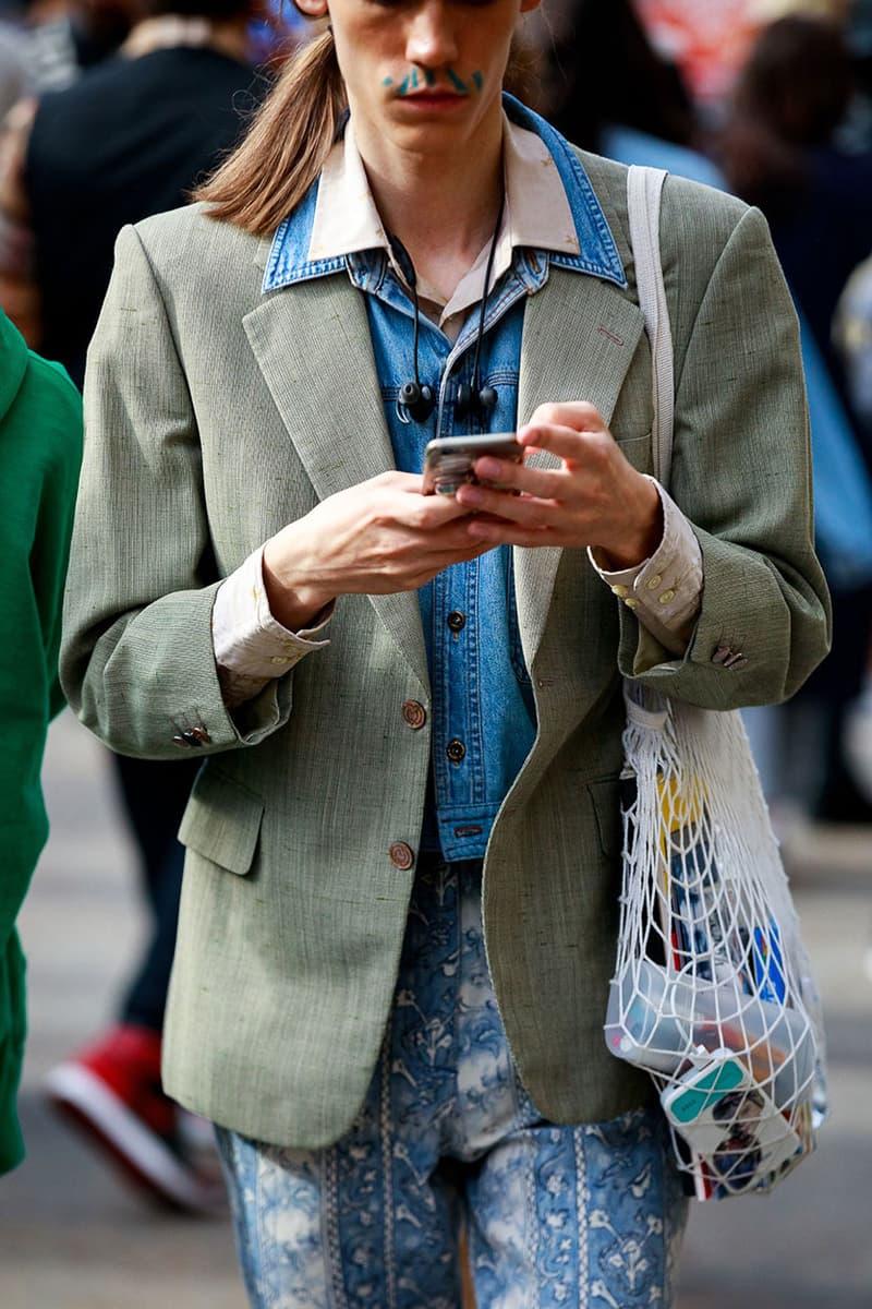 Street Style:2020 春夏倫敦男裝時裝週街拍特輯