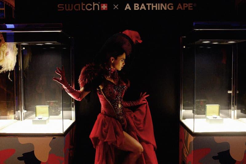 全球關注!HYPEBEAST 直擊 A BATHING APE® x Swatch 聯名系列東京發佈會