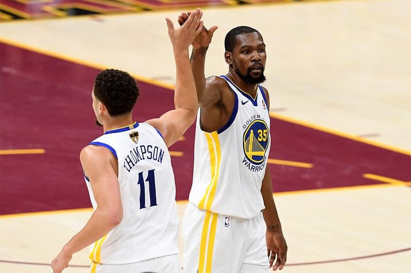 消息稱 Warriors 將提供 Klay Thompson 和 Kevin Durant 頂薪長約