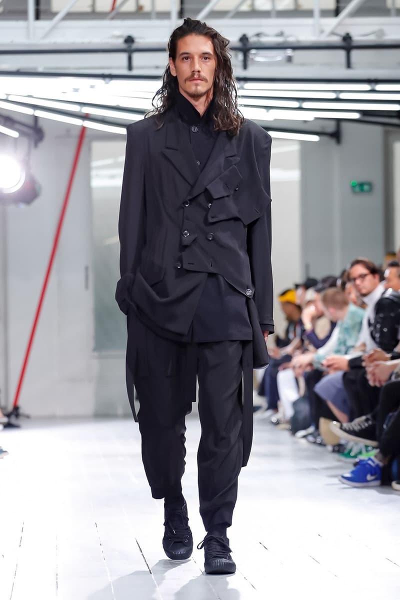 巴黎時裝周 − Yohji Yamamoto 2020 春夏男裝系列