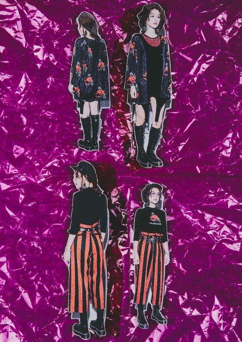 圍繞 70 年代-Slightly Numb 及女裝支線 NUMBnESS 共同發佈 2019 春夏系列