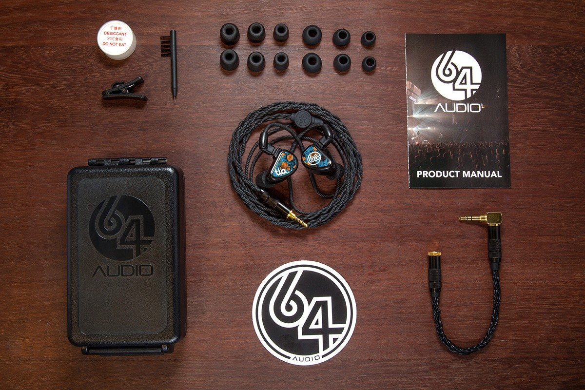 巨星專用級耳機 64 Audio 宣佈推出 Fourté Noir™ 的限量入耳式耳機