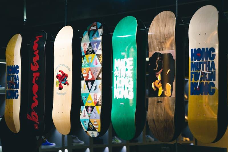 本土滑板文化基地-走進 8FIVE2 20 周年期間限定店