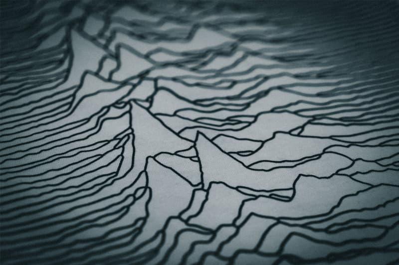 天文學脈衝波圖騰・Holymountain Co. 發佈「Mountain Tee」2.0