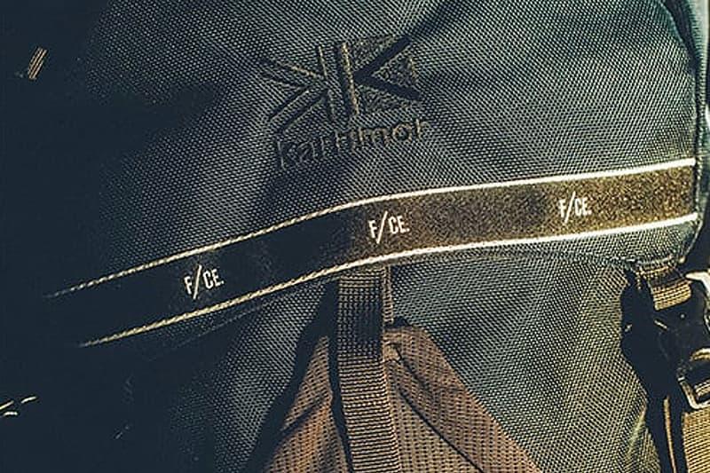 Karrimor x F/CE. 攜手打造七十年代主題聯名系列