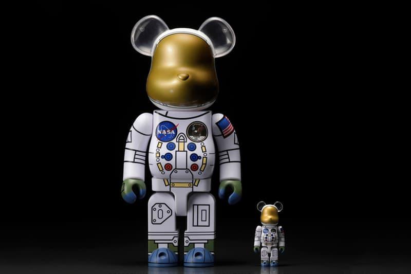 NASA 監修!人類登月 50 周年別注太空人 BE@RBRICK 即將上架
