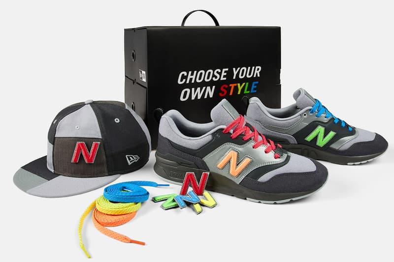New Balance x New Era 打造鞋與帽的最高互動別注 997H 鞋款