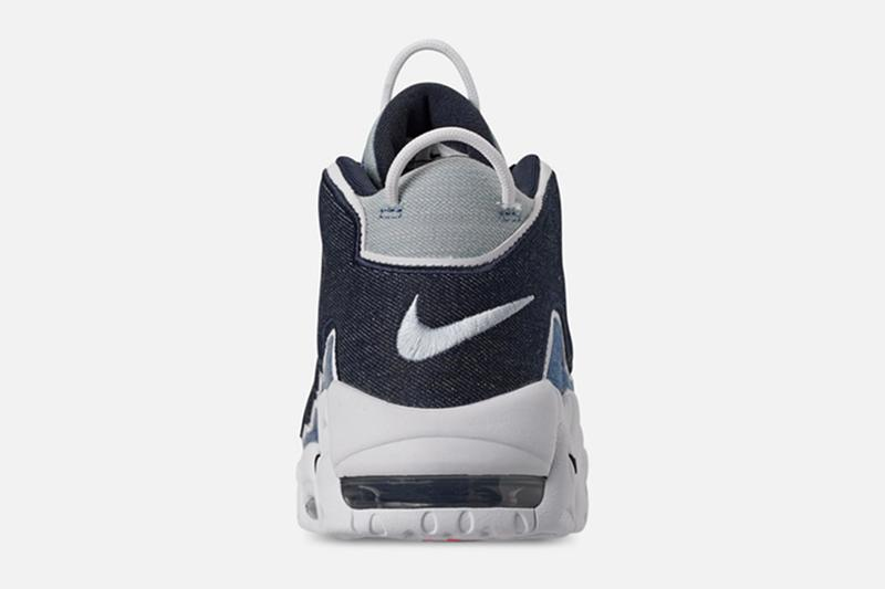 Nike 推出 Air More Uptempo 丹寧布料版本