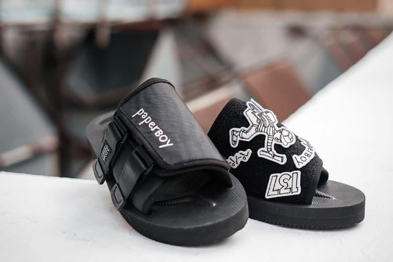 巴黎人氣食店 PaperBoy 聯手 SUICOKE 推出別注 KAW-VS 涼鞋