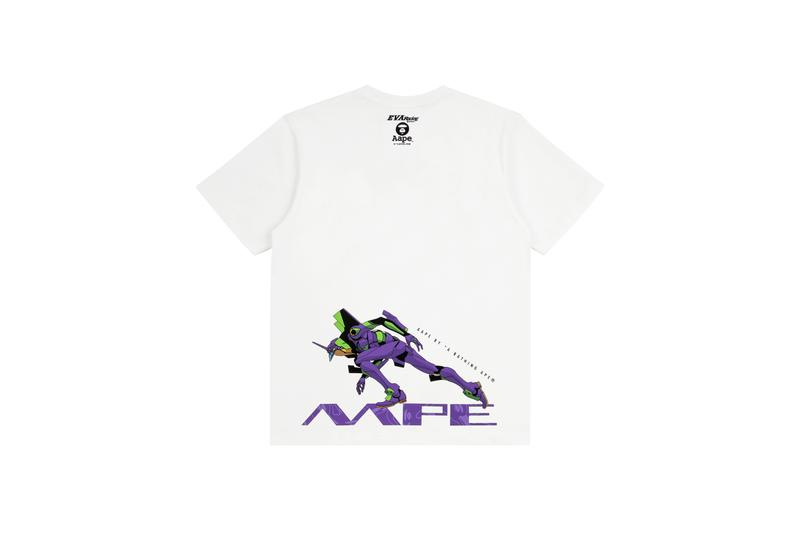 AAPE BY *A BATHING APE® x EVANGELION RACING 釋出聯乘系列