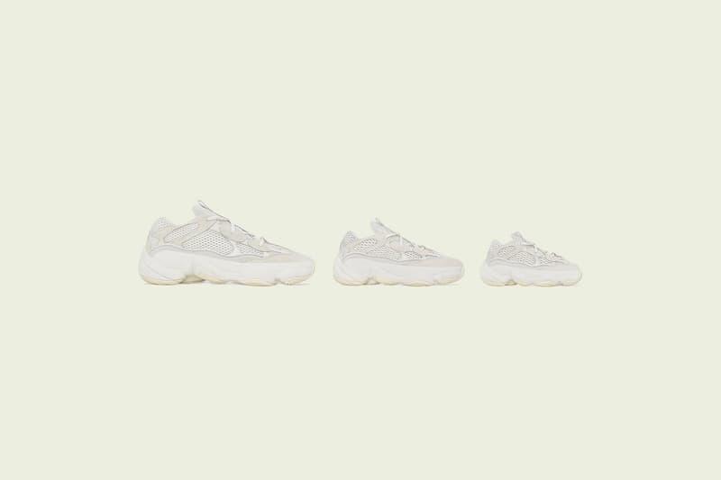 UPDATE: adidas Originals YEEZY 500「Bone White」配色全尺碼亮相