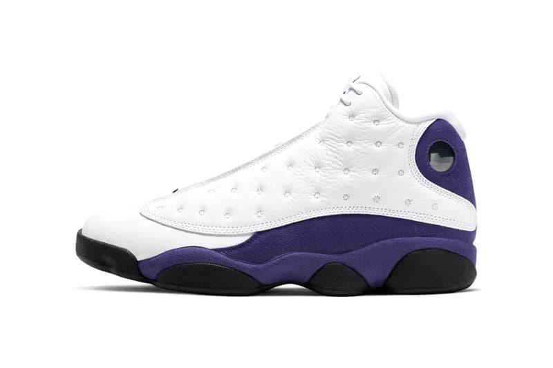 Air Jordan 13 全新配色設計「Court Purple」