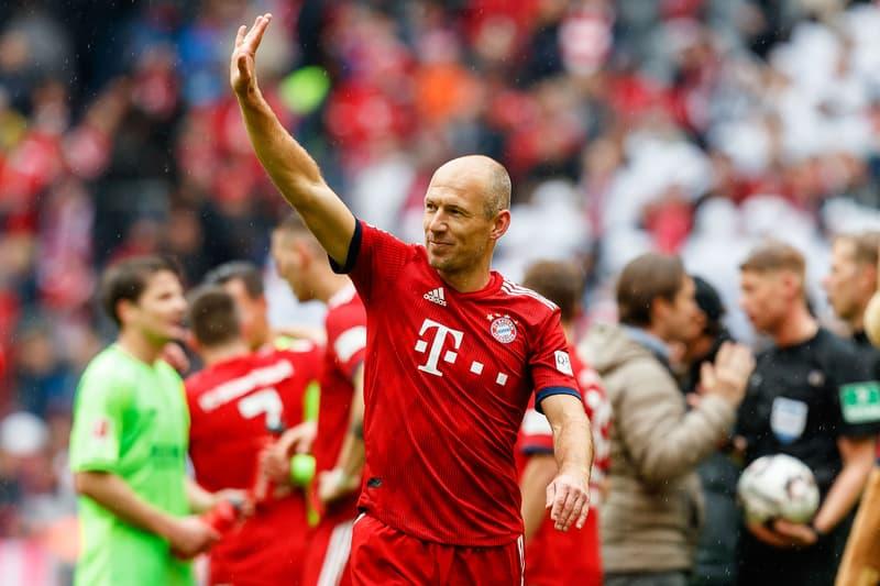 荷蘭傳奇球星 Arjen Robben 正式宣佈退役