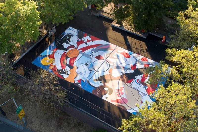 藝術家 Evan Rossell & Dee Rosse 打造《Space Jam 2》主題籃球場曝光