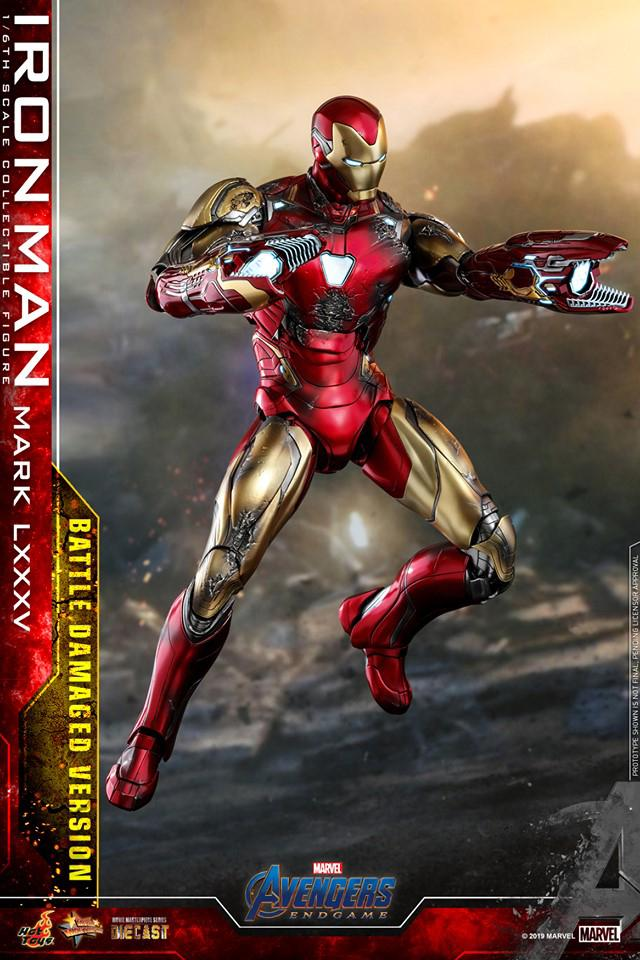 「I am Iron Man!」Hot Toys 推出 1:6 比例 Iron Man Mark LXXXV 戰損版珍藏人偶
