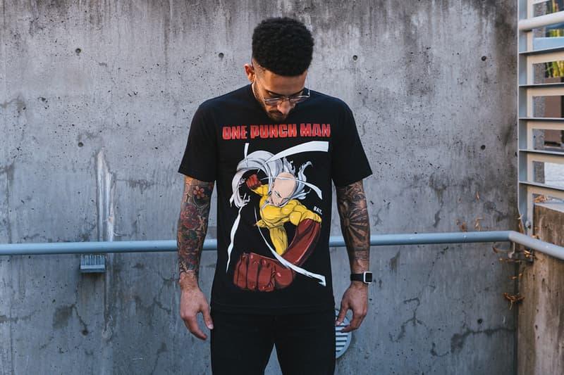 BAIT x《一拳超人》全新聯乘 T-Shirt 系列發佈