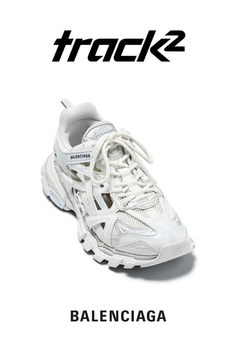 Balenciaga 全新 Track.2 運動鞋款正式開放購買
