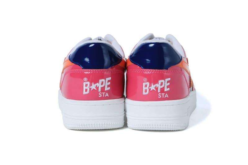 A BATHING APE® 發表 3 款全新繽紛色彩 Bapesta