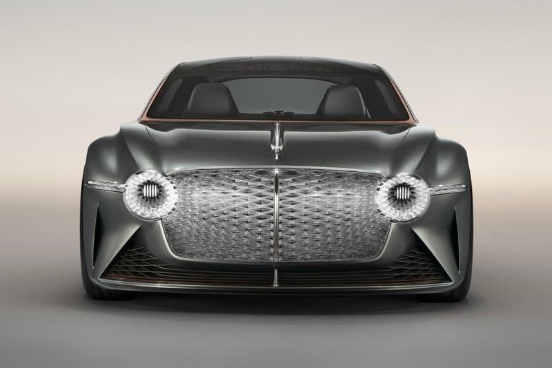 Bentley 推出 1,340 匹馬力 EXP 100 GT 純電概念車型