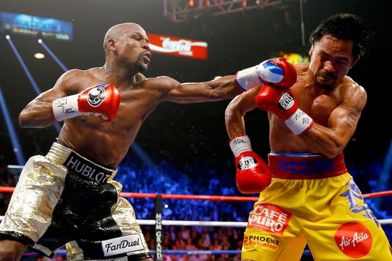 Floyd Mayweather 砲轟 Manny Pacquiao:我在精神、金錢和擂台上都擊敗你