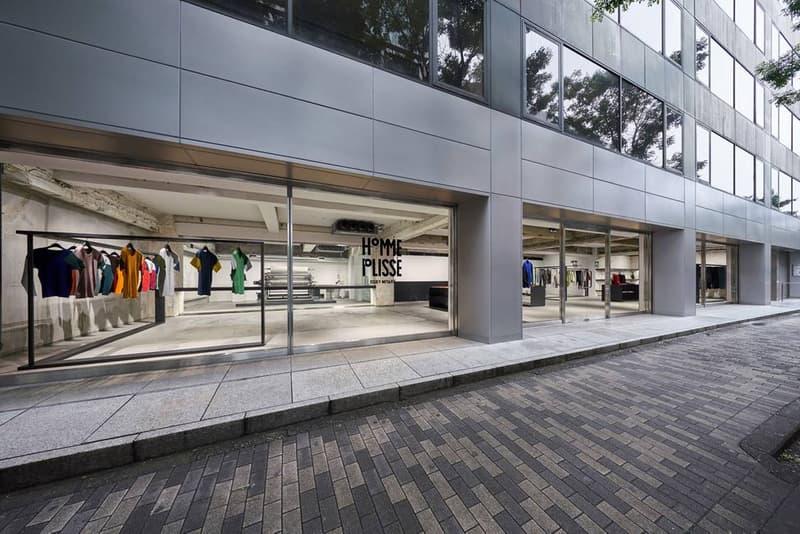 Homme PlisséIssey Miyake 於南青山開設新店鋪