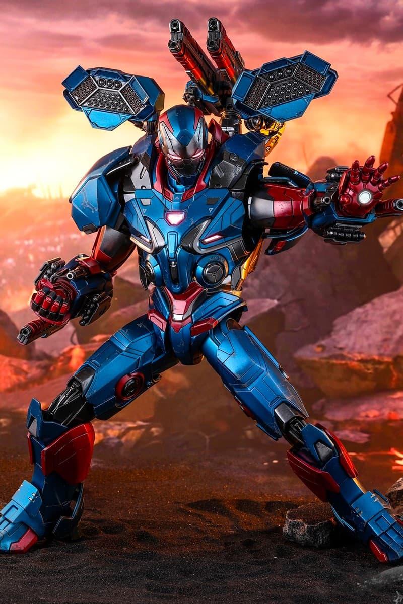 Hot Toys 推出 1:6《Avengers:Endgame》Iron Patriot「鋼鐵愛國者」珍藏人偶