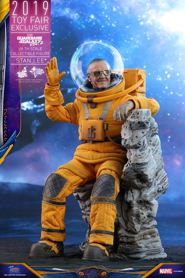 Hot Toys 發佈《 Guardians of the Galaxy Vol. 2》Stan Lee 1:6 比例珍藏人偶
