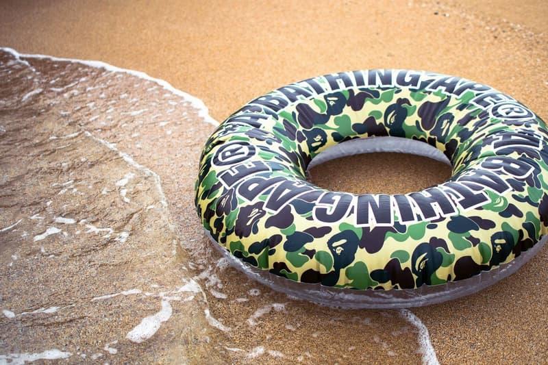 A BATHING APE® 推出 ABC CAMO 沙灘專屬配件