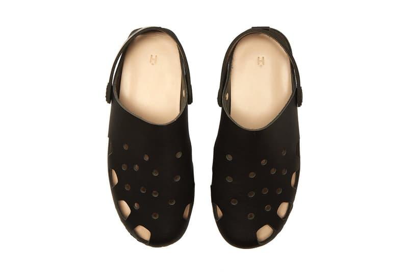 致敬功架-Hender Scheme 再以 Crocs 為靈感推出皮革涼鞋