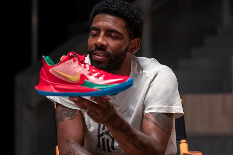 Kyrie Irving 釋出全系列 Nike x Spongebob Squarepants 聯乘籃球鞋