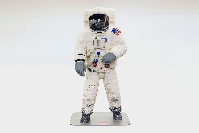 人類登月計劃 50 周年-LEGO 建造 1:1 真人大小宇航員