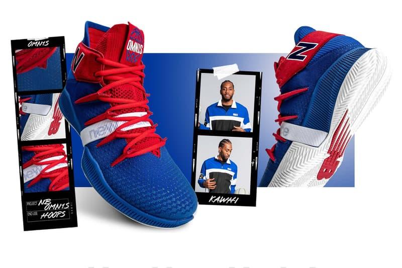 迅雷不及掩耳-New Balance 發佈 Clippers 配色 Kawhi Leonard 戰靴