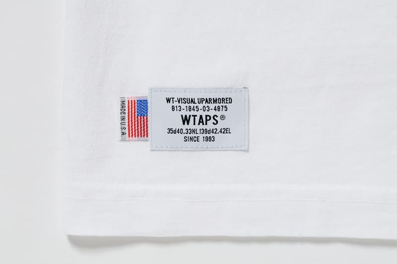 極上簡約-WTAPS 攜手日本新晉白 Tee 品牌 MINE 推出聯名 T-Shirt