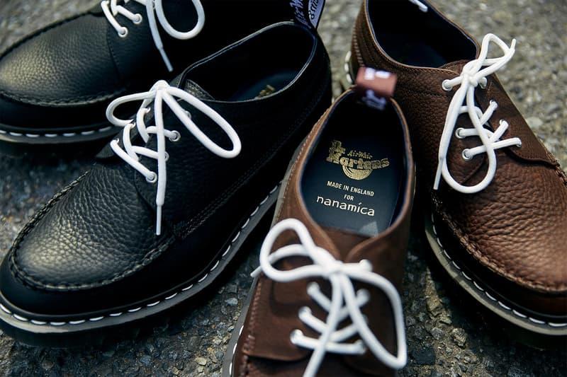 nanamica x Dr. Martens 限量別注鞋款第三回