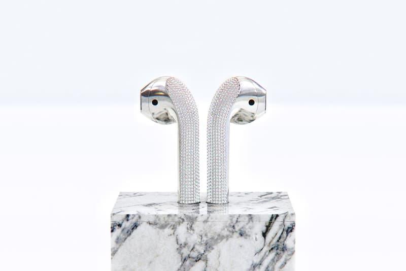設計師 Ian DeLucca 打造要價 $20,000 美元「鑽石」定製 AirPods