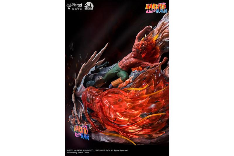 體術奧義 − Infinity Studio 打造 Naruto「凱 Vs. 宇智波斑」經典打鬥雕像