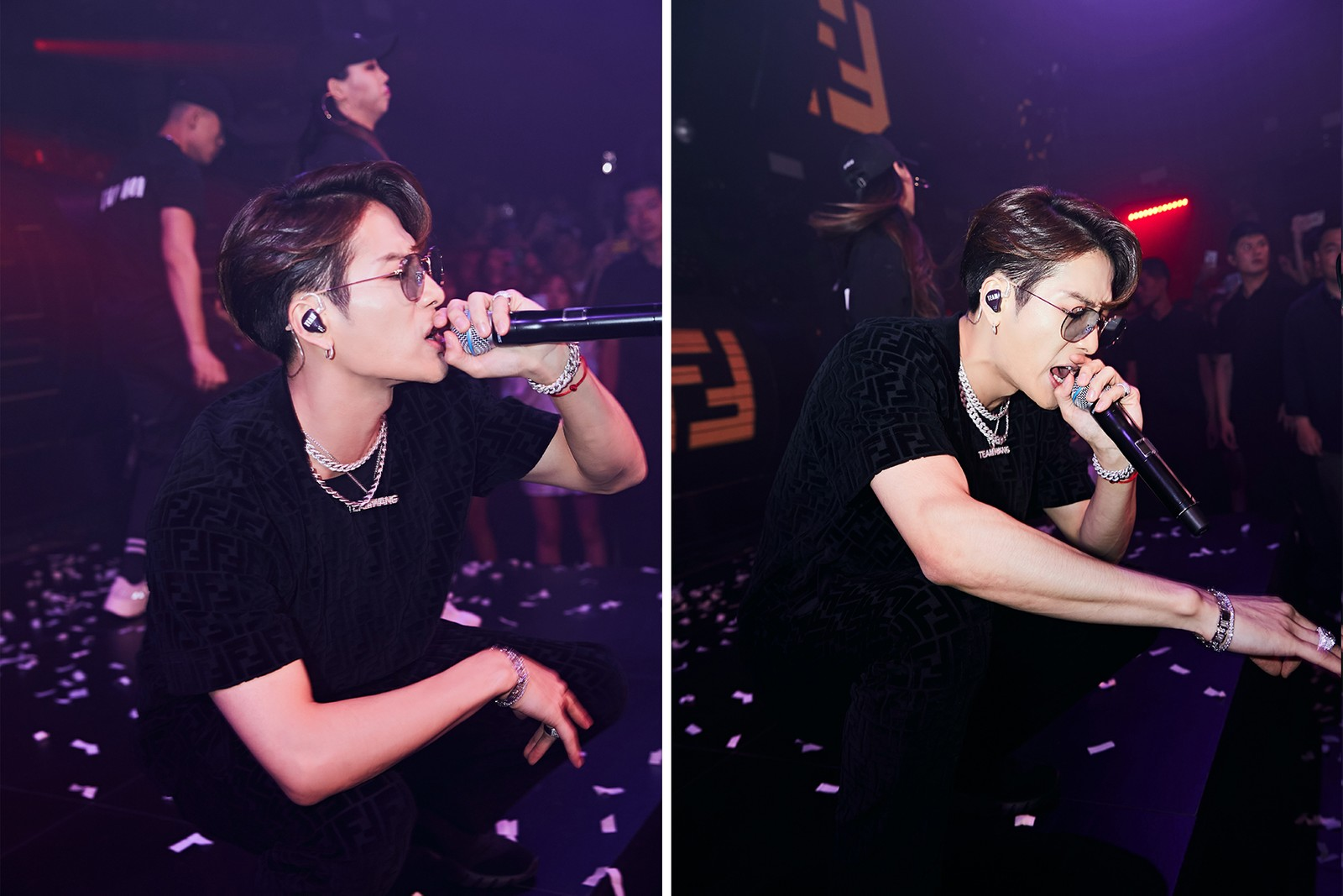 FENDI x Jackson Wang 聯乘企劃音樂派對回顧!