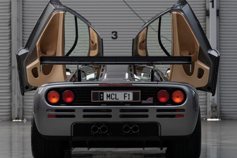 全球僅兩輛!McLaren F1「LM-Specification」升級版超跑即將進行拍賣