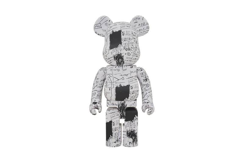 Medicom Toy x Jean-Michel Basquiat 全新聯乘 BE@RBRICK 系列上架
