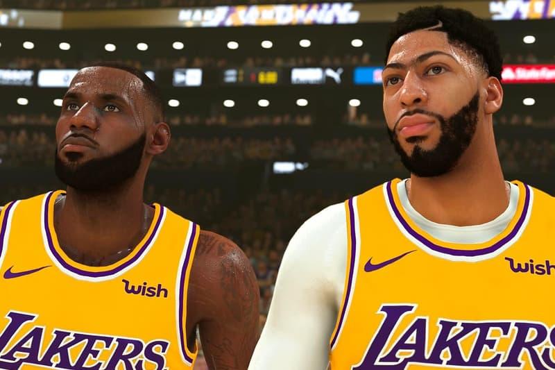 《NBA 2K20》發佈多位 NBA 巨星球員全新球衣角色設定圖